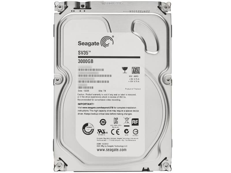 3 Тб, Seagate SV 35.5 ST3000VX000
