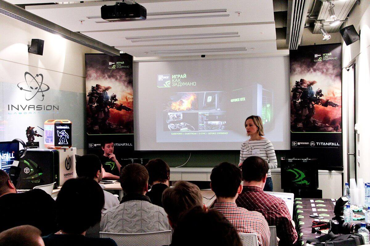 Выступление Ирины Шеховцовой, PR-менеджера компании NVIDIA.
