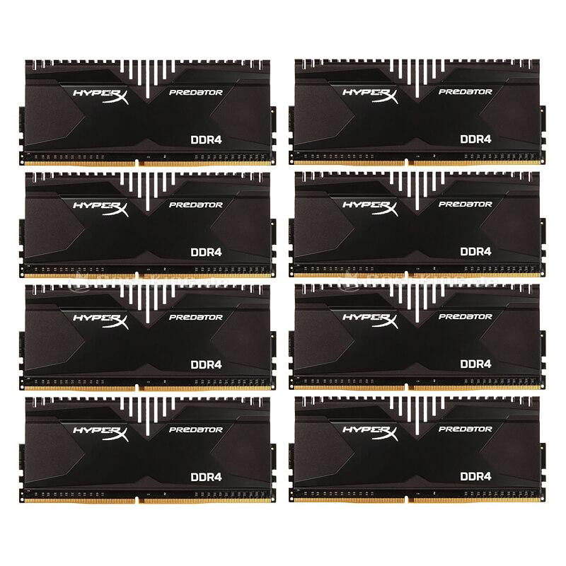 32ГБ (8×4ГБ), DDR4, Kingston HyperX Predator, 2800 Mhz