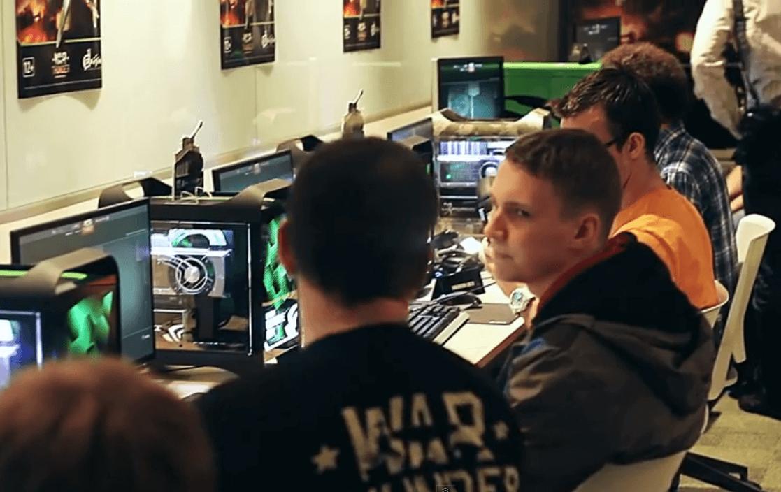 Танки в War Thunder, презентация в офисе NVIDIA