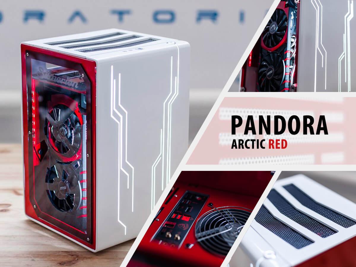 Invasion Pandora Arctic Red (бело-красный)
