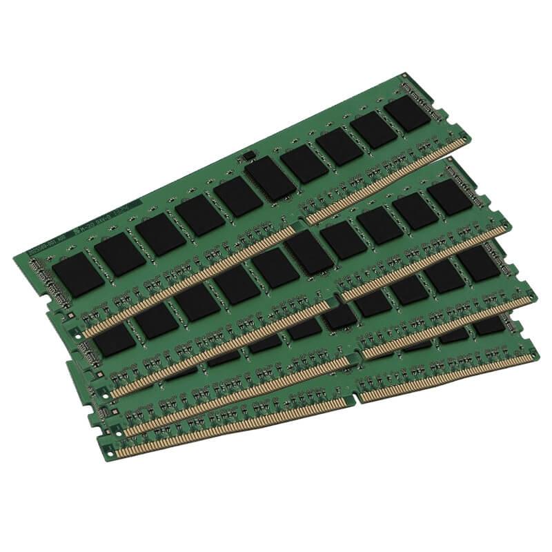 64ГБ (4×16ГБ), DDR4 ECC, Kingston KVR21R15D4/16, 2133 Mhz