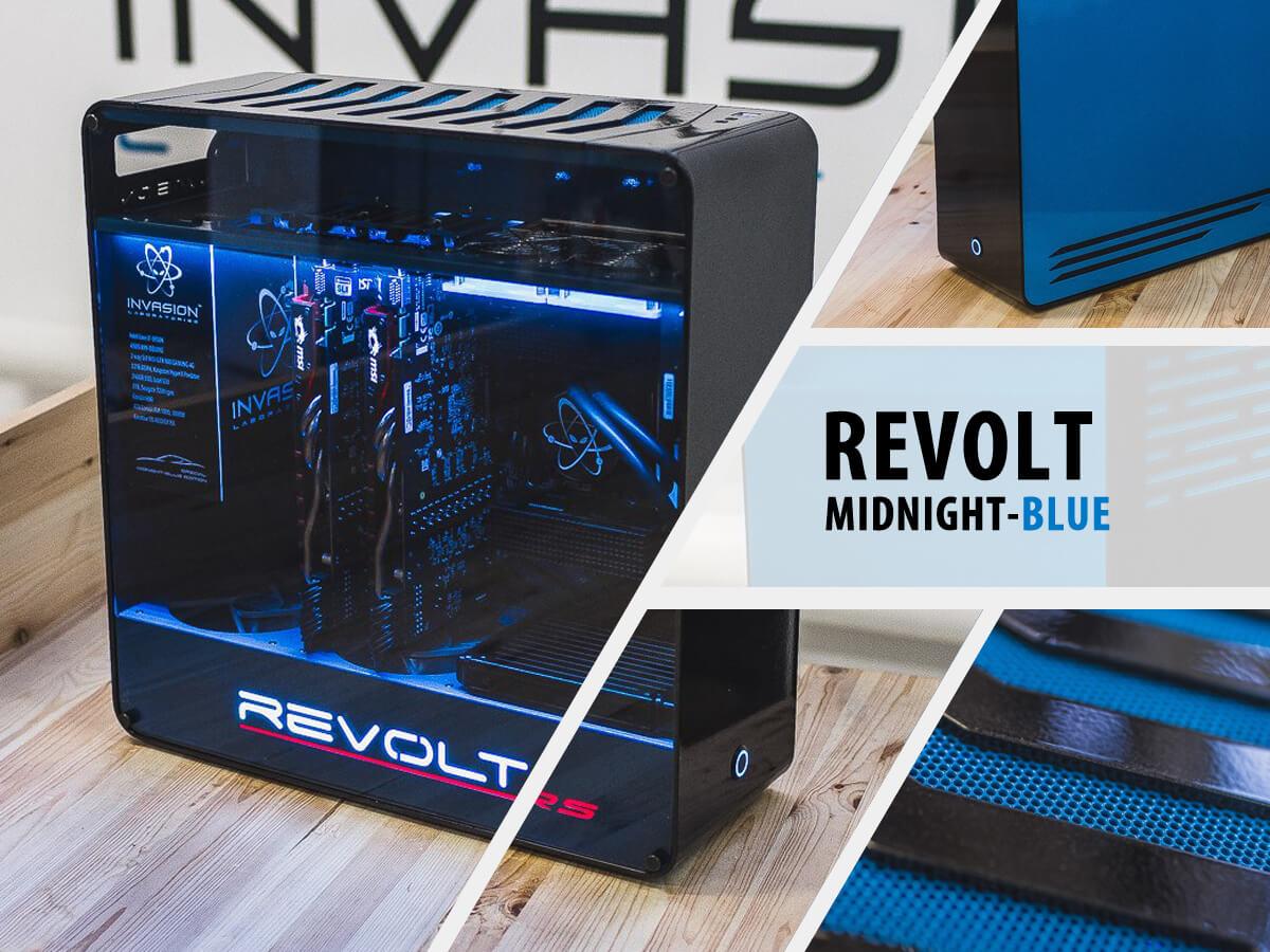 Invasion Revolt Midnight Blue (черно-синий)
