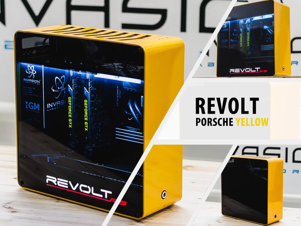 Invasion Revolt Porsche Yellow (желто-черный)