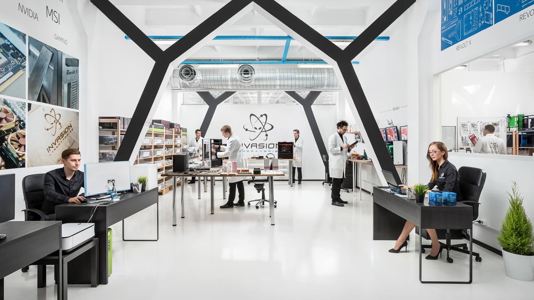 Экскурсия по INVASION Labs: сборочный процесс