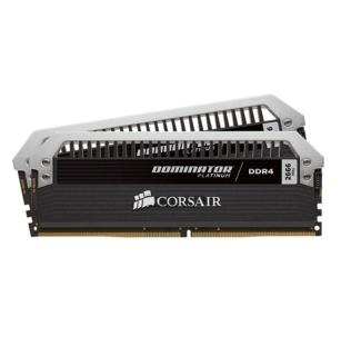 16ГБ (2×8ГБ), DDR4, CORSAIR Dominator Platinum, 2666 Mhz