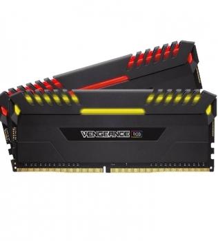 16ГБ (2×8ГБ), DDR4, CORSAIR Vengeance RGB, 2666 Mhz