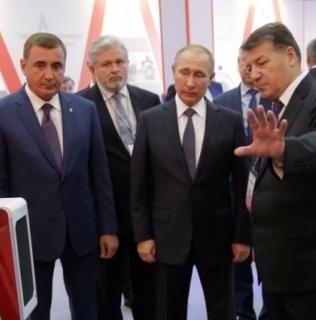 В.В. Путин оценил совместную разработку с участием INVASION Labs