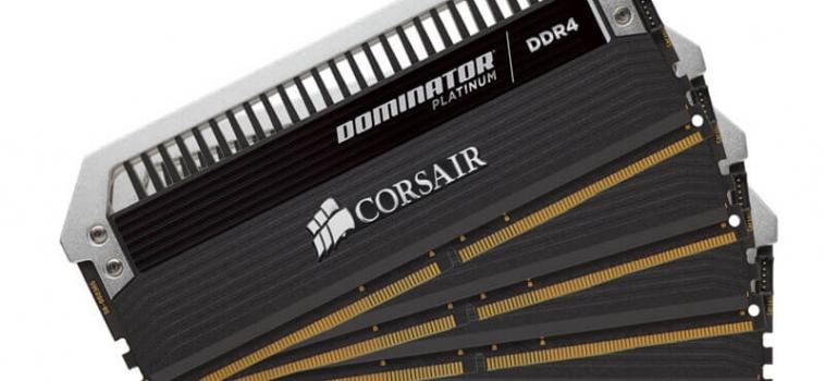 32ГБ (4×8ГБ), DDR4, CORSAIR Dominator Platinum, 2666 Mhz