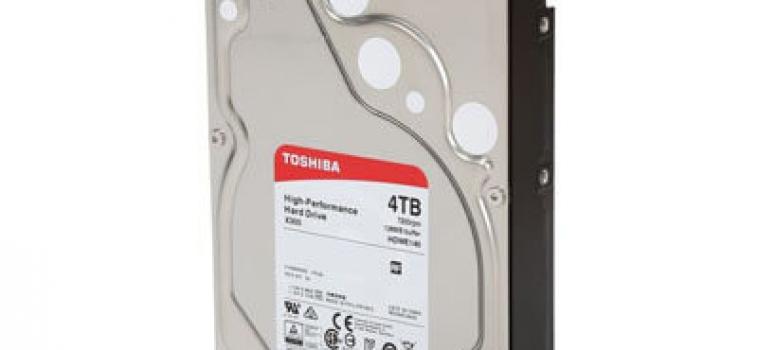 4 Тб, Toshiba X300 HDWE140UZSVA