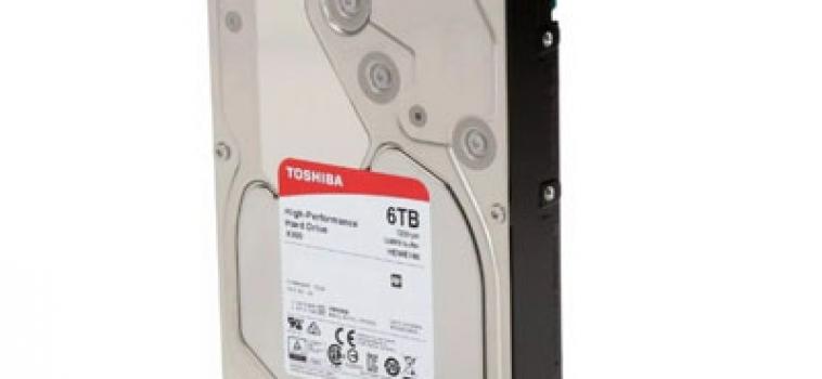 6 Тб, Toshiba X300 HDWE160UZSVA