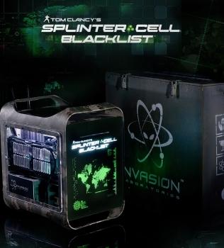 INVASION Pandora Splinter Cell: специальное издание компьютера