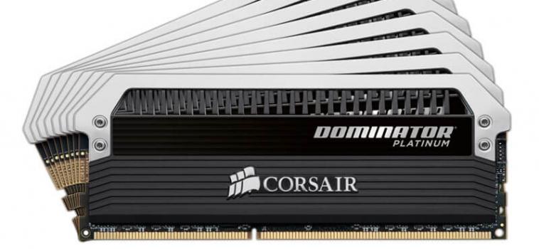64ГБ (8×8ГБ), DDR4, CORSAIR Dominator Platinum, 2400 Mhz