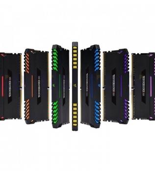 64ГБ (8×8ГБ), DDR4, CORSAIR Vengeance RGB, 2666 Mhz
