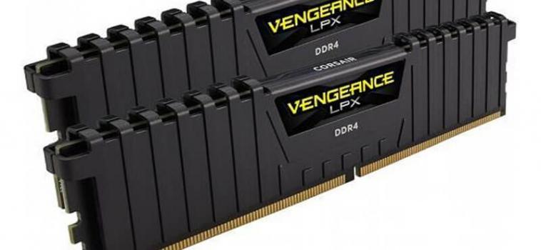 8ГБ (2×4ГБ), DDR4, CORSAIR Vengeance LPX, 2400 Mhz