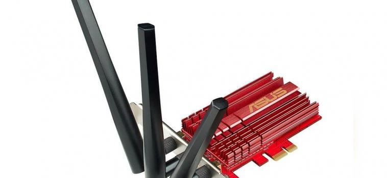 ASUS PCE-AC68 (1900 Мбит/с, PCIe)