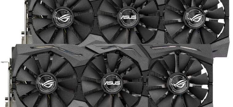 2x ASUS STRIX GTX1070-8G-GAMING (2 ВИДЕОКАРТЫ)