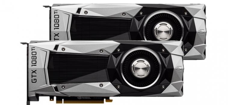2x GeForce GTX 1080 Ti (2 ВИДЕОКАРТЫ)