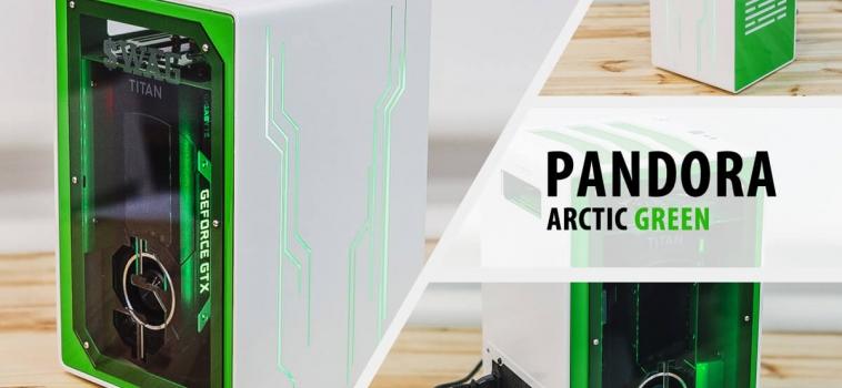 Invasion Pandora Arctic Green (бело-зеленый)