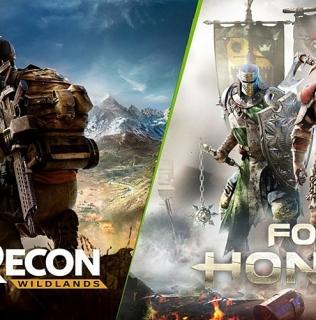 For Honor или GHOST RECON в подарок при покупке ПК на базе GeForce GTX 1070 или GTX 1080