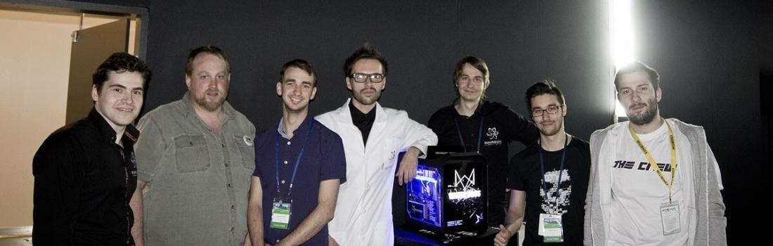 Игромир. Фото с разработчиками Watch Dogs, Assassin`s Creed и The Crew