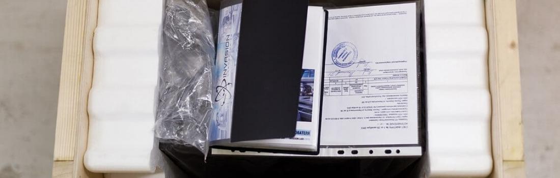 INVASION Uran 236, специальное оранжевое издание, комплектация завершена )