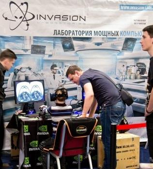 Invasion Labs на выставке игр и киберспорта Ogic 2014