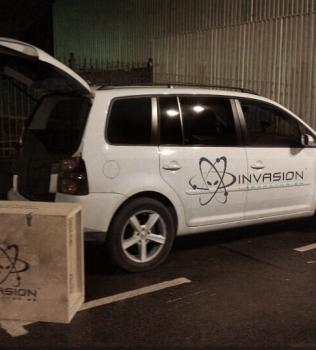 Invasion Reventon готовится к знакомству со своим новым владельцем.