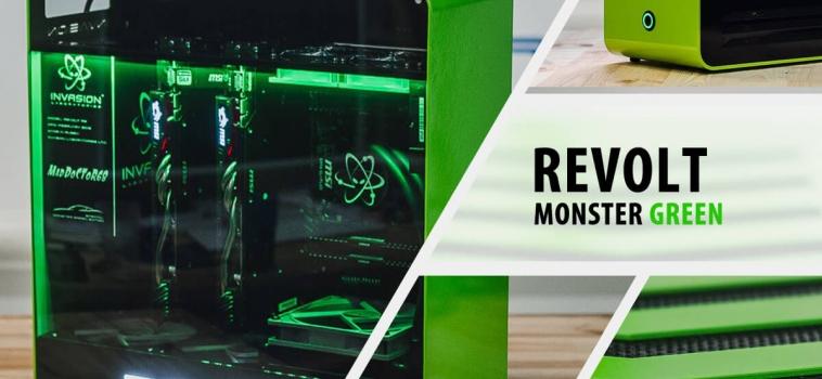 Invasion Revolt Monster Green