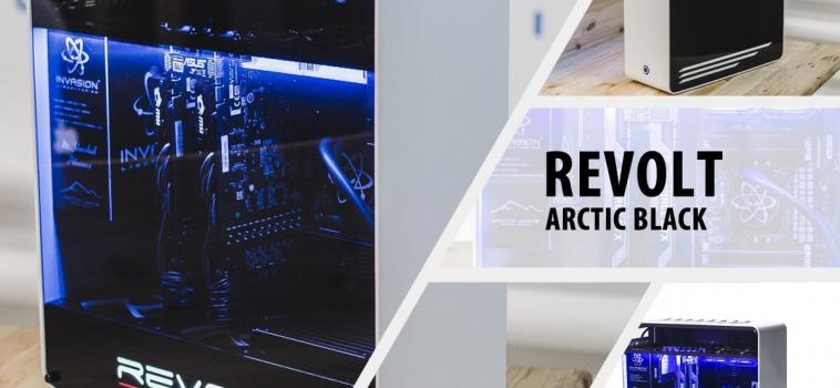 Invasion Revolt Arctic Black (бело-черный)