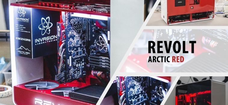 Invasion Revolt Arctic Red (бело-красный)