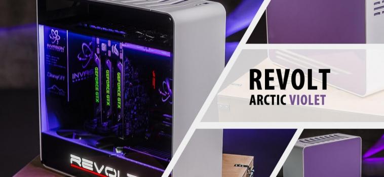Invasion Revolt Arctic Violet (бело-фиолетовый)