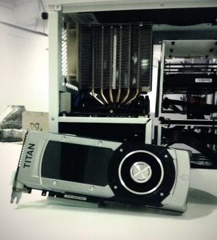 GeForce GTX Titan Black готовится к стыковке с INVASION Pandora