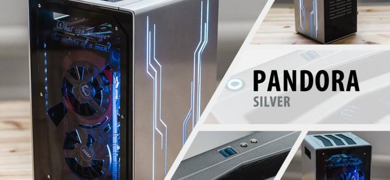 Invasion Pandora Silver (серый металлик)