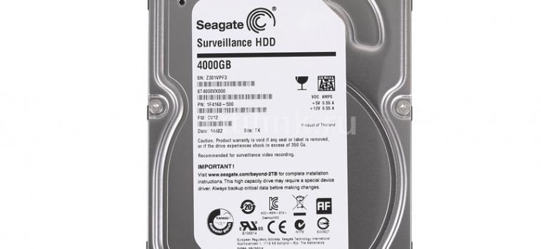 4 Тб, Seagate SV 35.5 ST4000VX000