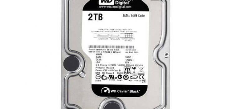 2 Тб, WD Black (WD2003FZEX)